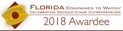 Florida Companies to Watch 2018 Awardee.